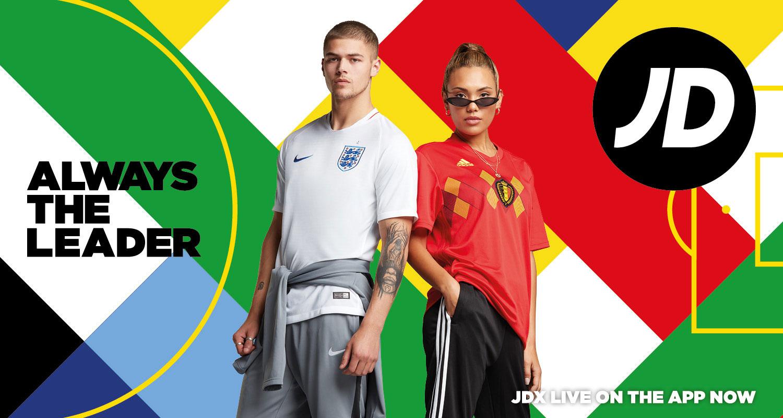 JD – Always the Leader World Cup Merchandise